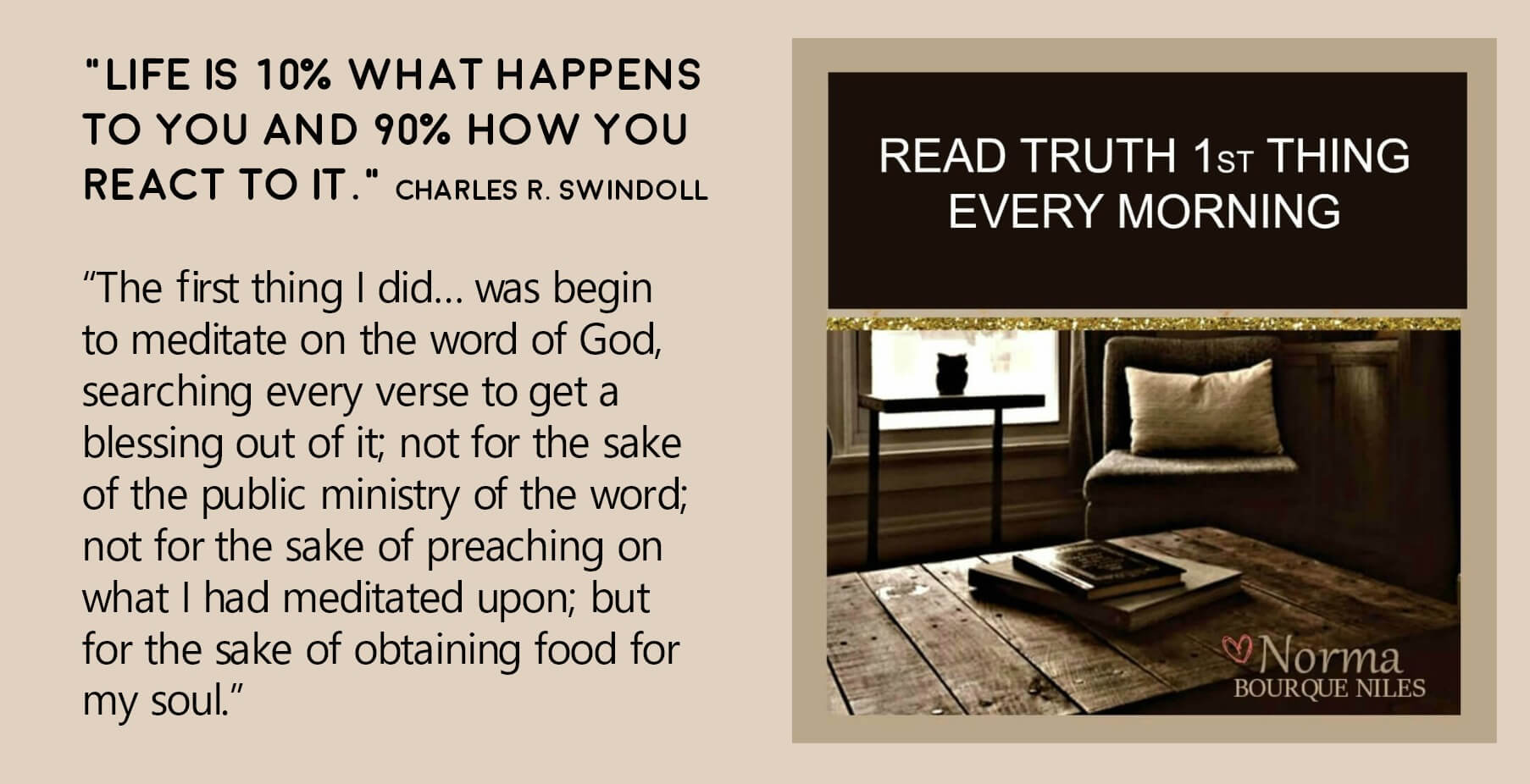 Read Truth First Thing Every Morning (0)