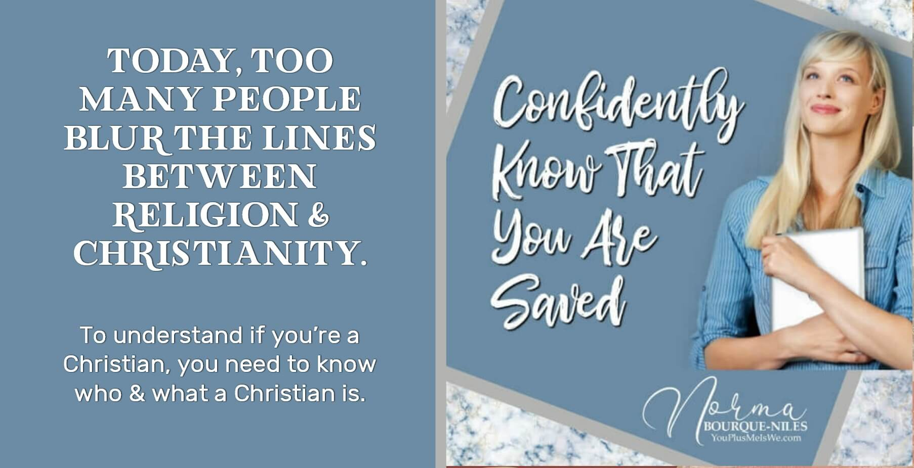 Confidently Know You Are Saved